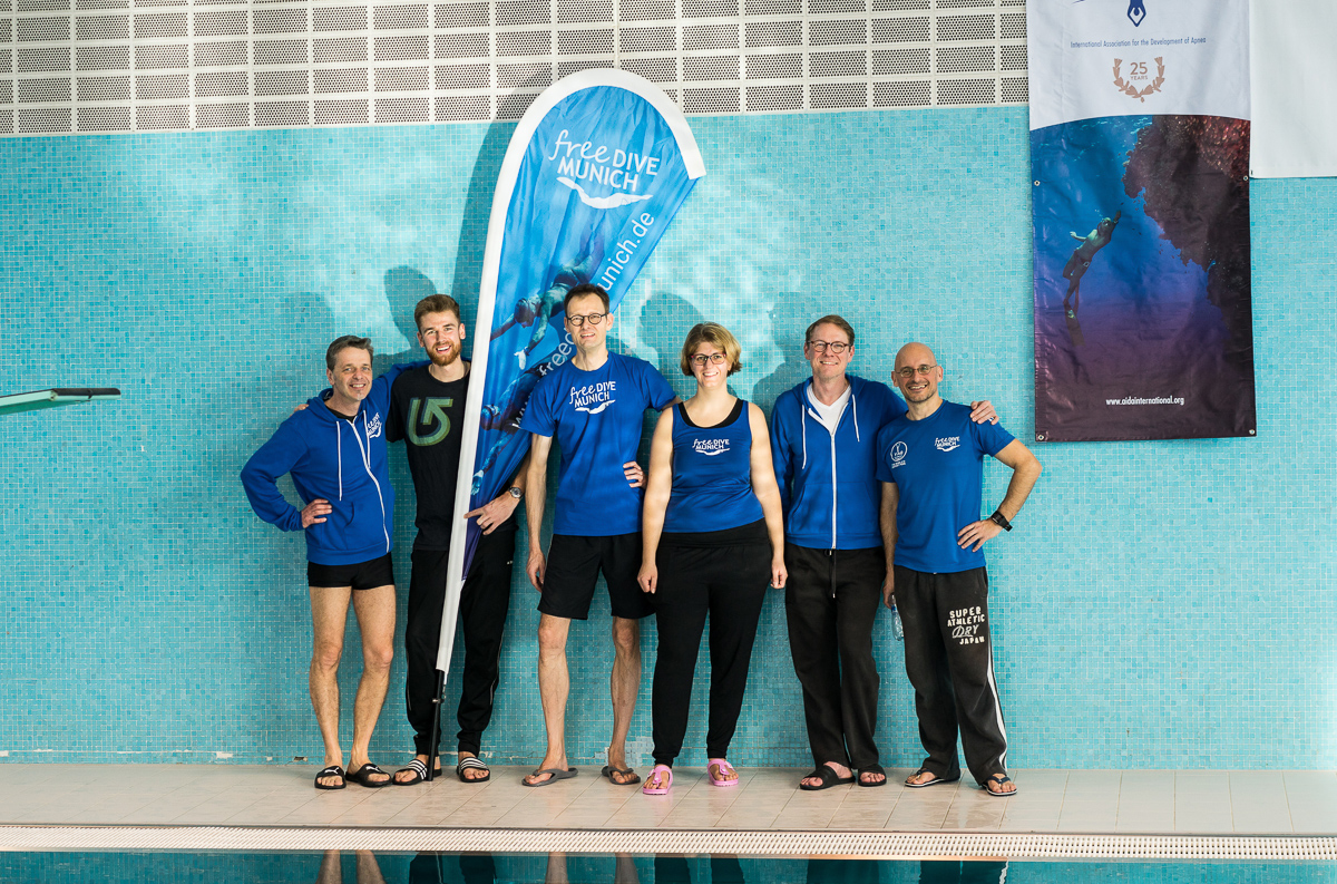 Freedive Munich Team beim 8th Tyrolean Apnea Cup in Innsbruck